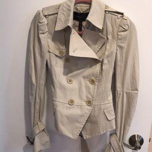 A brand new short trench coat from BCBG MAXAZRIA